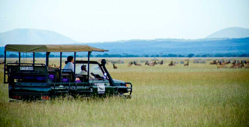 &Beyond Serengeti Grumeti Lodge Sundowner