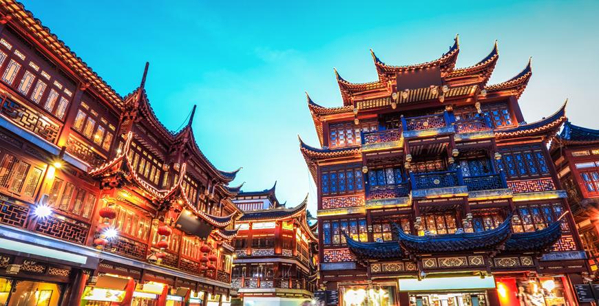 Yuyuan Garden, Shanghai, courtesy Shutterstock