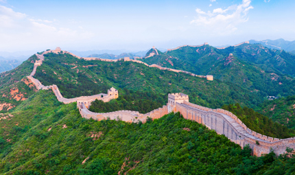 The Great Wall, courtesy Shutterstock