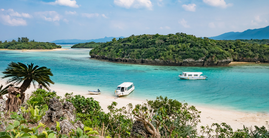 Ishigaki Okinawa Beach, Courtesy Shutterstock
