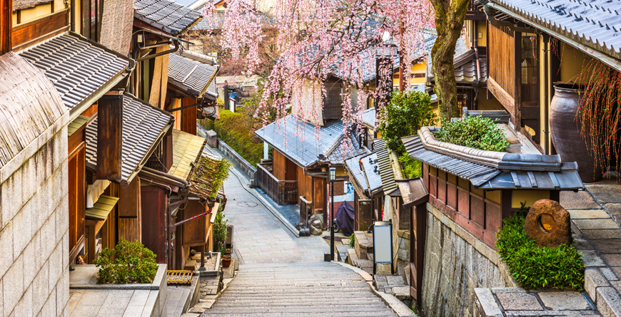 Kyoto in Spring, Courtesy Shutterstock