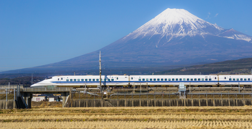 Bullet Train, Courtesy Shutterstock