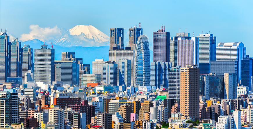 Tokyo & Mt. Fuji, Courtesy Shutterstock