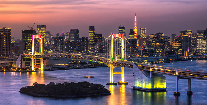 Tokyo at Night, Courtesy Shutterstock