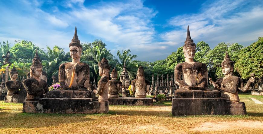 Wat Xieng Khuan Buddha Park, courtesy Shutterstock