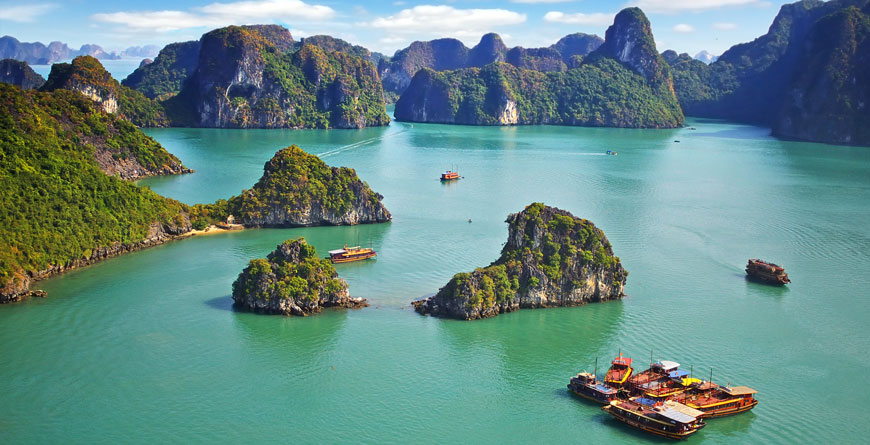 Ha Long Bay Courtesy Shutterstock