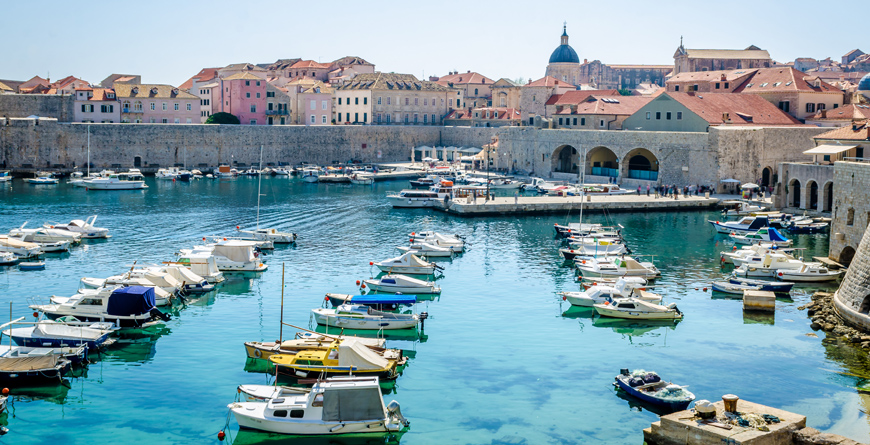 Dubrovnik Old Town Pier, Credit, Migor, Shutterstock