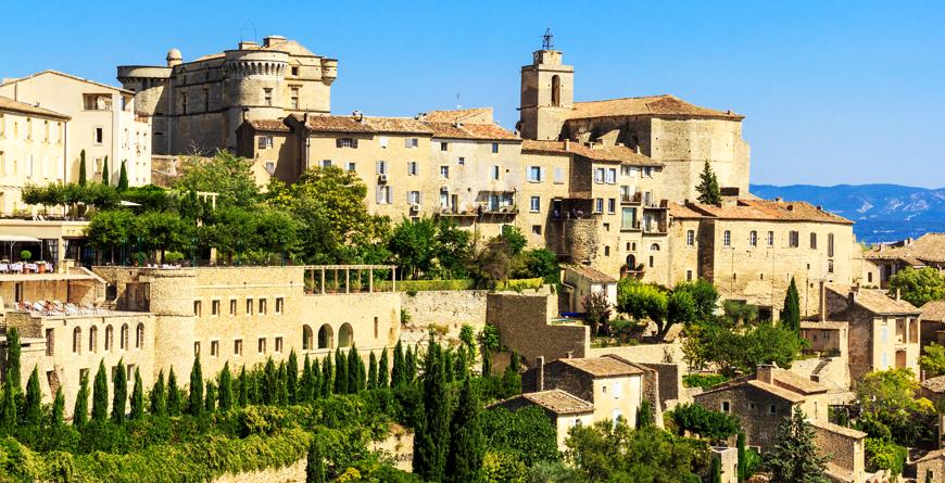 Gordes Medieval Village, Credit Shutterstock