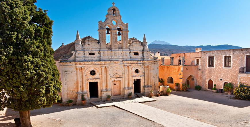 Bacilica of Arkadi Monastery, Credit Shutterstock
