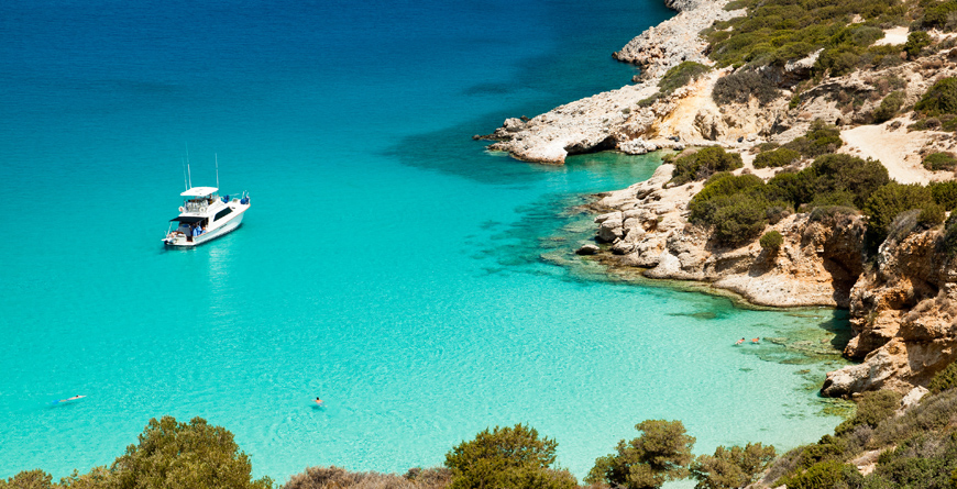 Cretan Bay, Credit Shutterstock