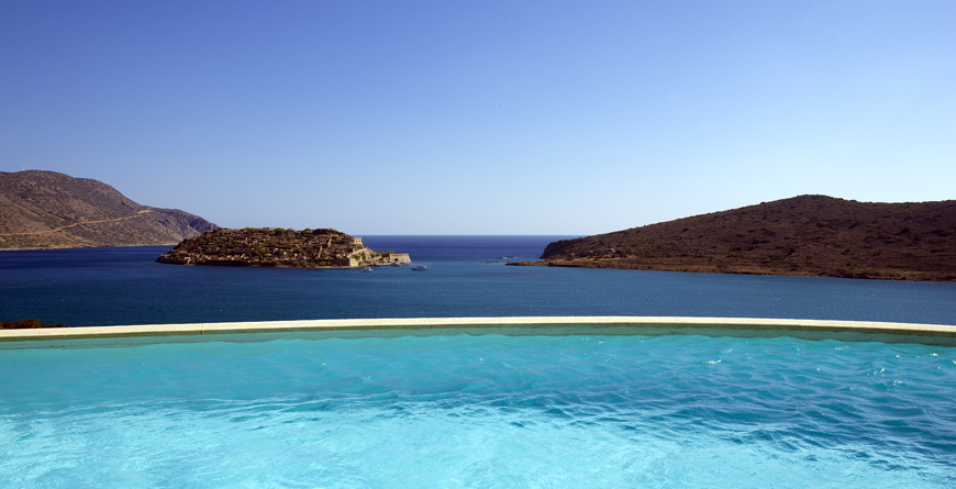 Domes of Elounda Villa Apetera Pool