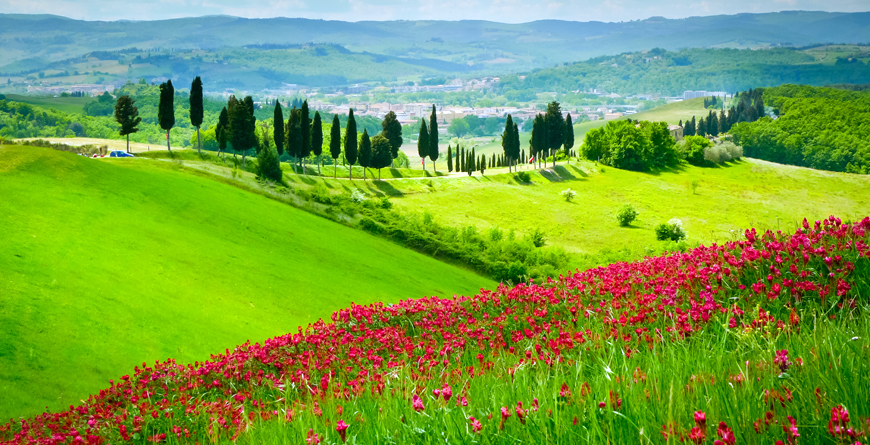 Tuscany, Credit Maria Savoia, Shutterstock