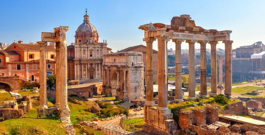 Forum, Rome, Credit SBorisov, Shutterstock