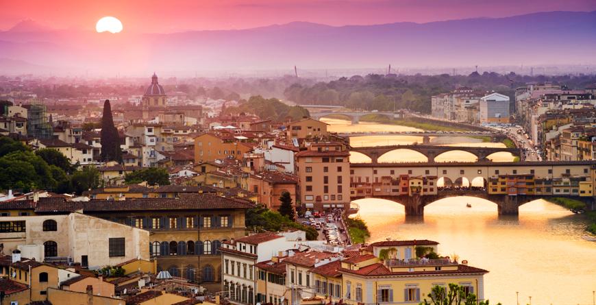 Pne Vecchio Florence, Credit Shutterstock
