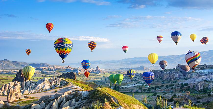 Cappadocia, Credit Shutterstock