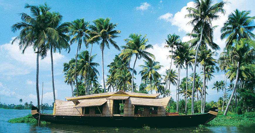 Kerala Houseboat, Courtesy Creative Travel