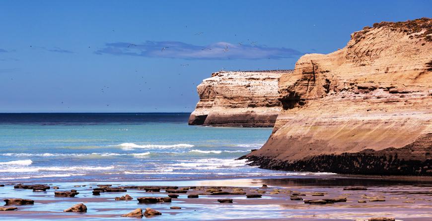 Patagonian Coast, Credit Galyna Andrushko, Shutterstock