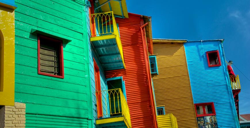 Buenos Aires, La Boca, Credit Daniel Korzeneiwski, Shutterstock.com