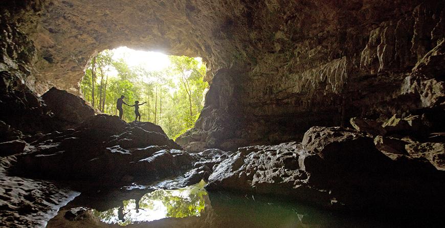 Exploring Caves Credit Travel Pioneers