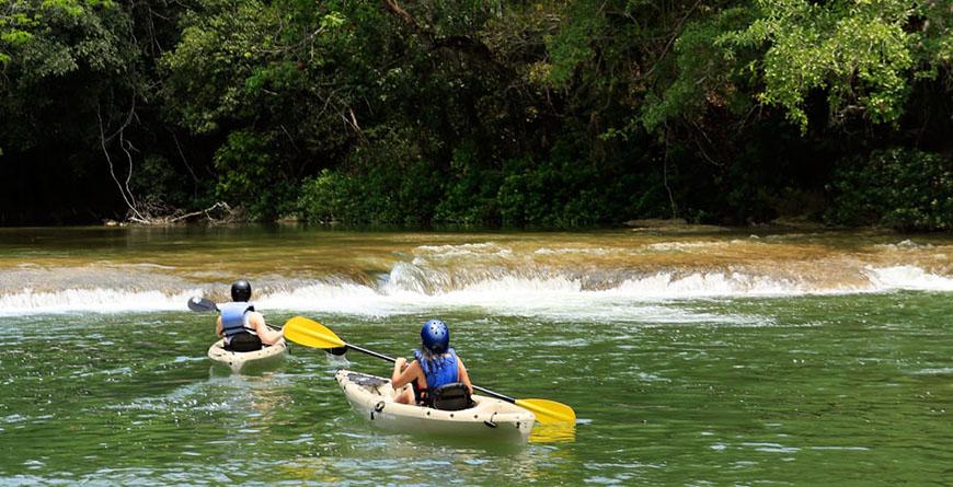 Kayaking Credit Travel Pioneers