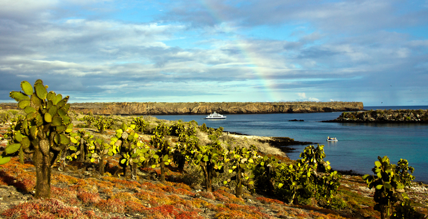 Galapagos Landscape, Credit Ecoventura