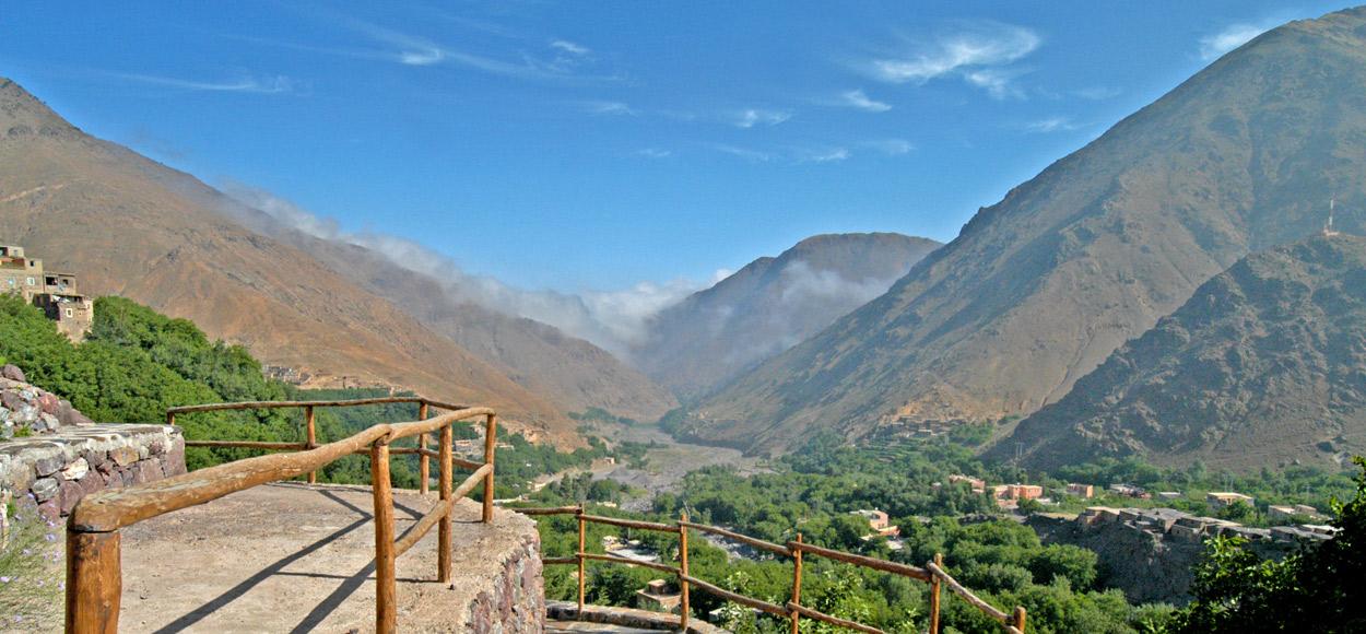 Atlas Mountains, Kasbah Imlil Valley