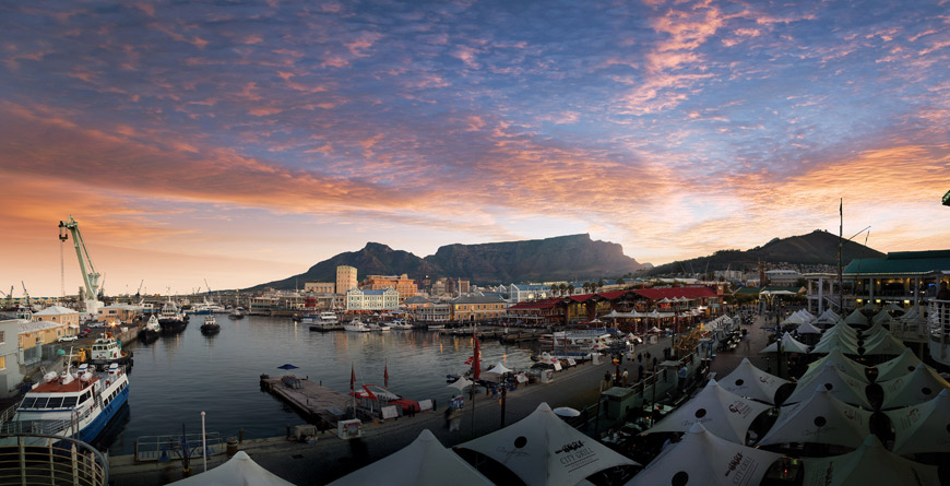 Cape Town Waterfront, courtesy of South Africa Tourism