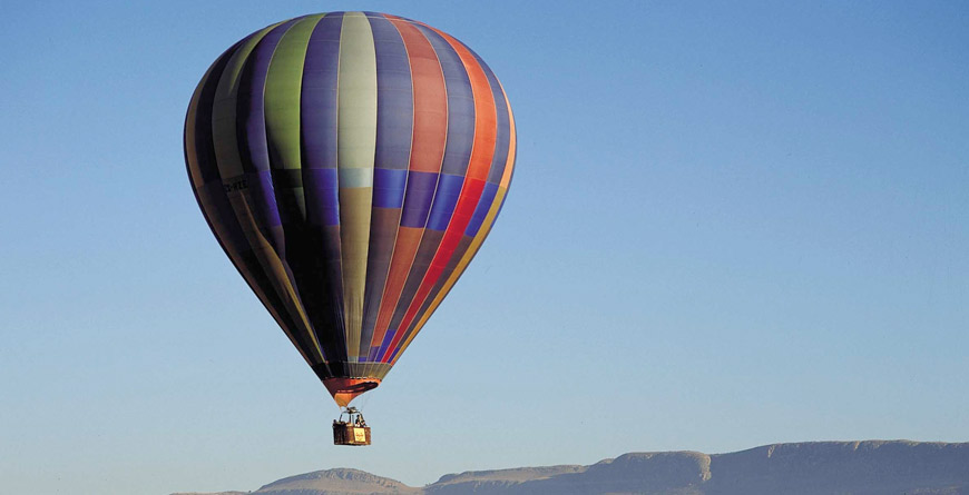Balloon Safari at Pillanesberg