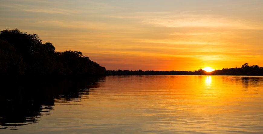 Sunset Courtesy Jeffery & McKeith Safaris
