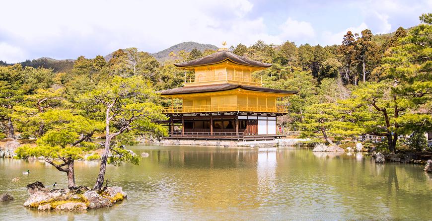 Kinkakuji Temple, Credit Inside Asia