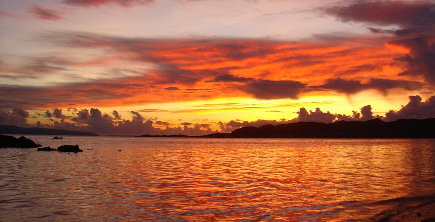 Sunset, Credit Inside Asia