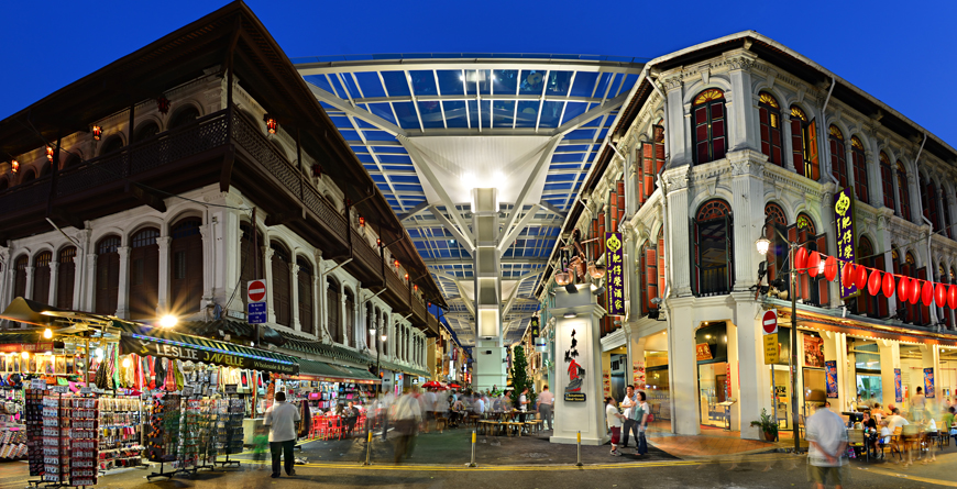 Chinatown Food Street, Credit Singapore Tourism Board