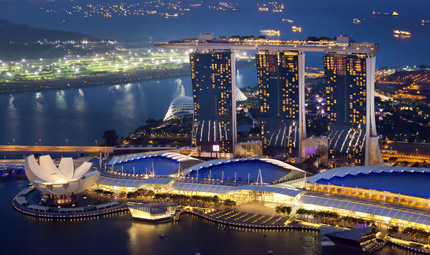 Singapore by Night, Credit Tourism Board