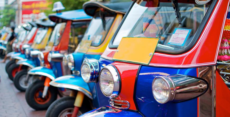 Tuk Tuk, Credit Shutterstock