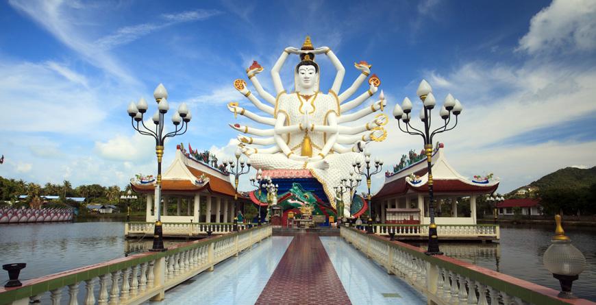 Kuan Yin Statue, Koh Samui, Credit Shutterstock