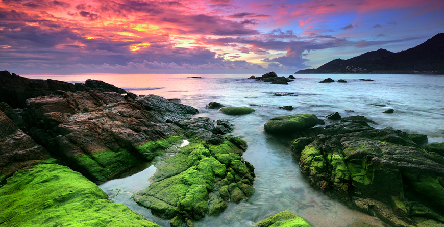 Sunset at Koh Samui, Credit Shutterstock