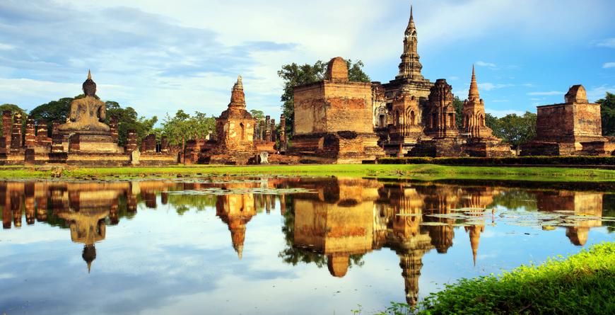 Sukhothai Historic Park, Credit Shutterstock