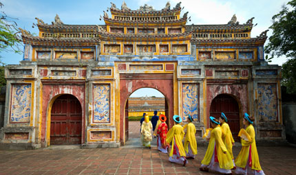 Imperial City of Hue, ChrisHowey_Shutterstock