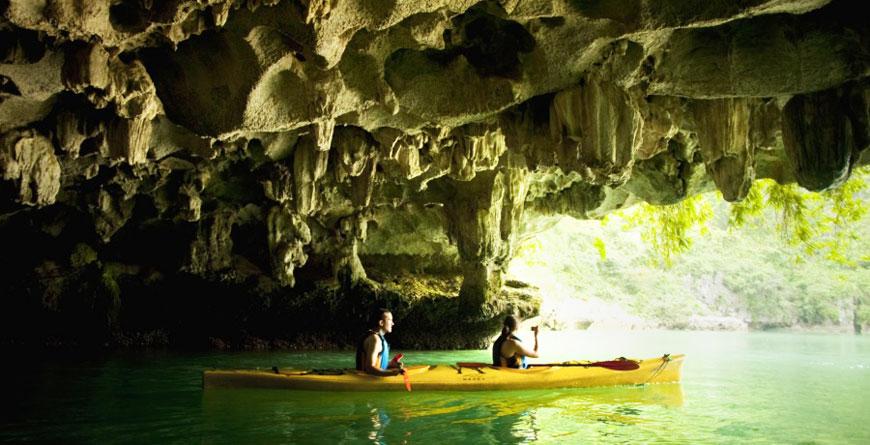 Halong Bay, Courtesy The Au Co Halong Bay