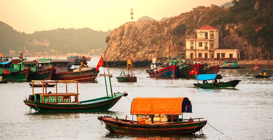 Halong Bay, Courtesy Galyna Andrushko Shutterstock
