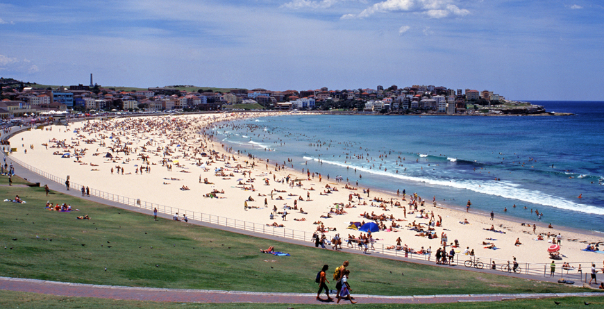 Bondi Beach, Credit Tourism Australia, Andrew Wallace