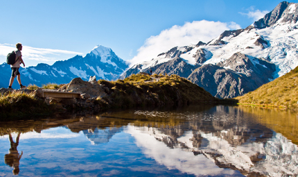 Mount Cook, courtesy Shutterstock