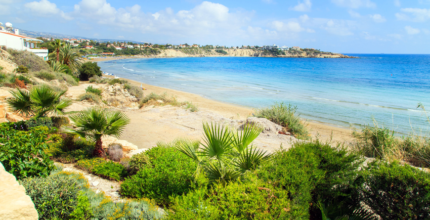 Coral Beach, Paphos, Credit Shutterstock