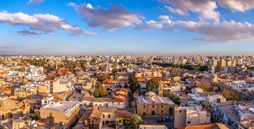 Nicosia Cityscape, Credit Shutterstock