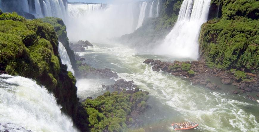 Waterfalls, Credit Eduardo Rivero, Shutterstocock.com