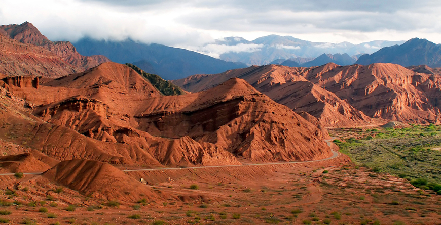 Red Mountains Cafayate, Credit Horon, Shutterstock.com
