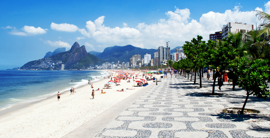 Ipanema Beach, Credit Caterina Belova, Shutterstock.com