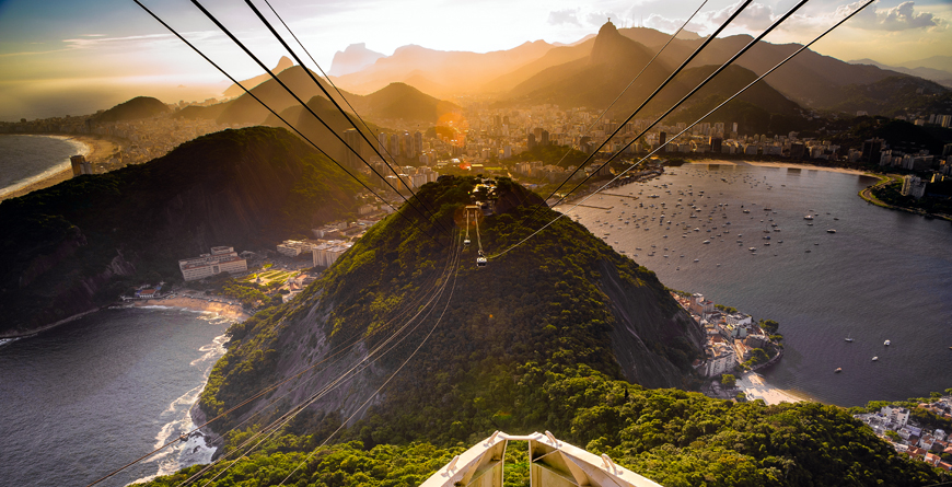 Overhead Cable Car, Credit Celso Diniz, Shutterstock.com