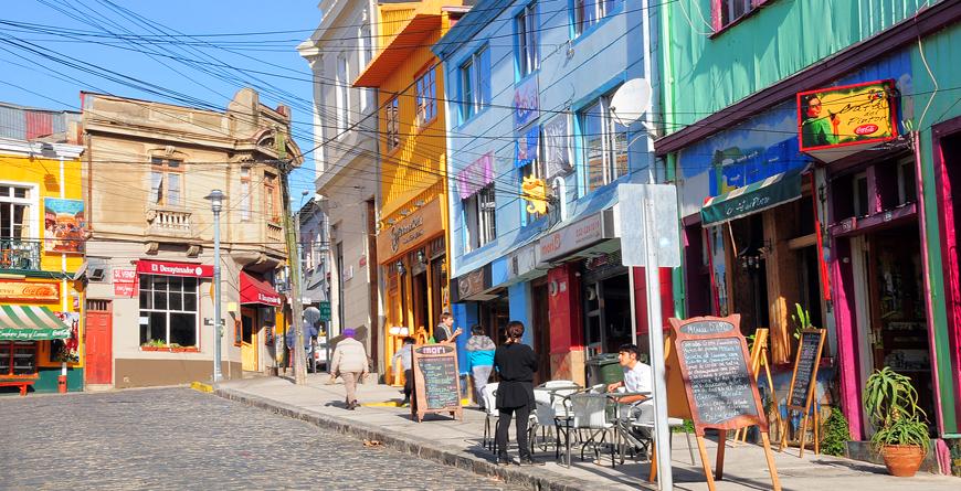 Valparaiso Streets, Credit Serjio, Shutterstock.com