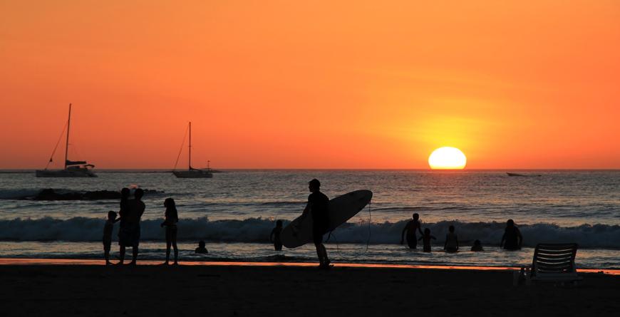 Tamarindo Surfers, Courtesy Shutterstock